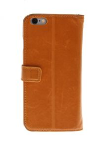 INSMAT Premium Flip Case iPhone 6 Brown (650-2238)