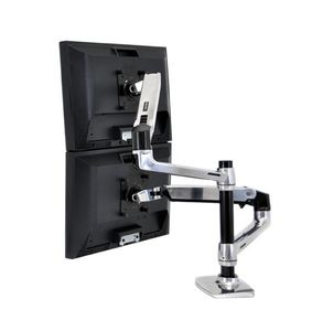 ERGOTRON LX ARM EXTENSION AND COLLAR KIT POLISHED ALUMINUM ACCS (97-940-026)