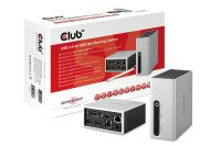 CLUB 3D USB3 4K Mini Docking Station (CSV-3104D)