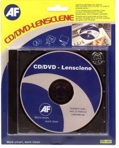 AF CD Lensclene CD-ROM Cleaning Disc In J/C  (CDL000)