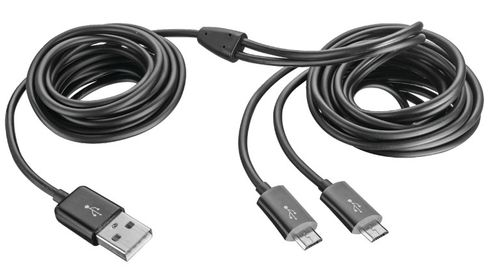 TRUST GXT 221 Duo Charge Cable for Xbox (20432)