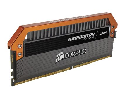 CORSAIR Dominator DDR4 3400MHz 16GB 4x4GB KIT, CL16, 1.35V,  Fan Assembly Included, Airflow Platinum Dominator (CMD16GX4M4B3400C16)