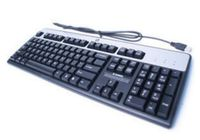 HP Basic Keyboard USB - Swedish Bulk (434821-107)