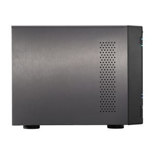 ASUSTOR AS-7004T 4-Bay NAS 4-Bay NAS, Intel Core i3 3.5 GHz Dual-Core,  2GB DDR3, GbE x 2, HDMI, SPDIF, USB (AS-7004T)