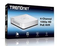 TRENDNET 4-CHANNEL 1080P HD POE NVR                                  IN REC (TV-NVR104)
