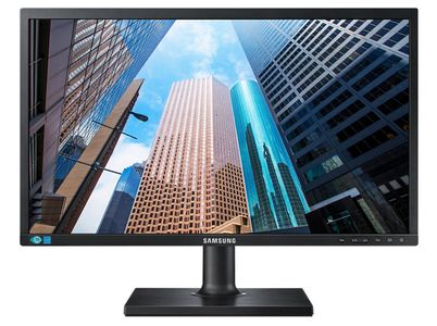 SAMSUNG S22E450B 22'' Led Full HD Monitor, Black (LS22E45KBSV/EN)