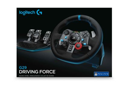 LOGITECH G29 Driving Force Racing Wheel - for PlayStation 4, PlayStation 3 and PC  - USB (941-000112)