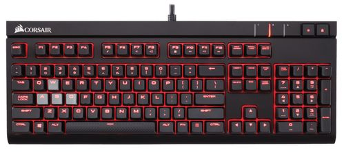 CORSAIR Gaming Strafe Mech Cherry MX Brown, Red LED (CH-9000092-ND)