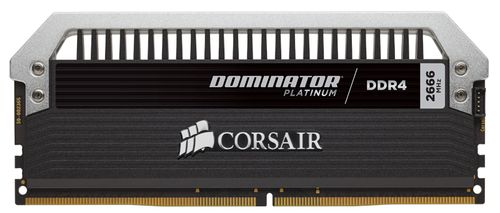 CORSAIR memory D4 2666 16GB C15 Dom kit (CMD16GX4M2A2666C15)