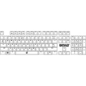 QPAD MK-70 Gaming Mechanical Keyboard Cherry MX Red, Nordic Layout (3204-NO-RED)