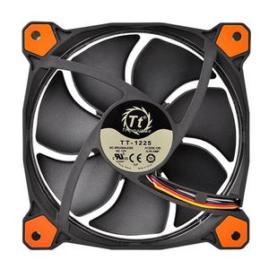 THERMALTAKE RIING 12 LED ORANGE 120X120X25 WHITE LED LNC CPNT (CL-F038-PL12OR-A)