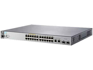 Hewlett Packard Enterprise Aruba 2530 24x, SFP PoE+ 195W Web-mgd Switch Renew (J9779AR)
