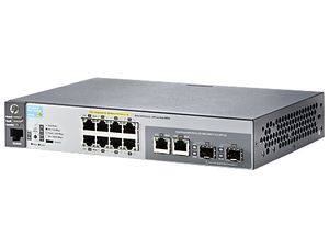 Hewlett Packard Enterprise 2530-8 POE+ Switch (J9780A#ABB)