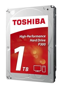TOSHIBA P300 HIGH-PERFORMANCE HD 1TB 3.5IN SATA - BULK INT (HDWD110UZSVA)