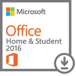 MICROSOFT OFFICE HOME & STUDENT 2016, ALL LNG (ONLINE DOWNLOAD) (79G-04294)