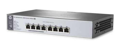 Hewlett Packard Enterprise 1820-8G-PoE+ (65W) Switch (J9982A#ABB)