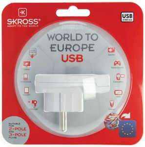 SKROSS World to Europe USB - qty 1 (1.500260)