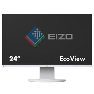 "EIZO 24"" LED FlexScan EV2450-WT 1920x1080 IPS, 5ms, 1000:1, Speakers, VDA/ DVI/ HDMI/ DP (EV2450-WT)"