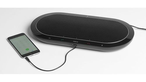 JABRA SPEAK 810 MS Speakerphone -kokousmikrofoni isommalle ryhmälle (USB- Bluetooth -AUX) (7810-109)