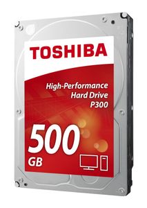 TOSHIBA P300 HIGH-PERFORMANCE HD 500GB 3.5IN SATA - BULK INT (HDWD105UZSVA)