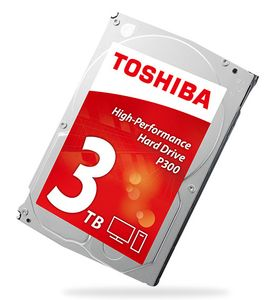 TOSHIBA 3,5'' 3TB Bulk P300 -High-Performance (HDWD130UZSVA)
