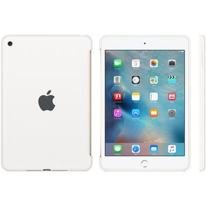 APPLE IPAD MINI 4 SILICONE CASE WHITE . (MKLL2ZM/A)