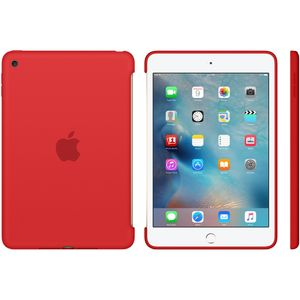 APPLE IPAD MINI 4 SILICONE CASE RED . (MKLN2ZM/A)