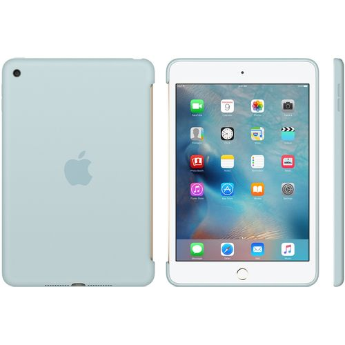 APPLE IPAD MINI 4 SILICONE CASE TURQUOISE ACCS (MLD72ZM/A)