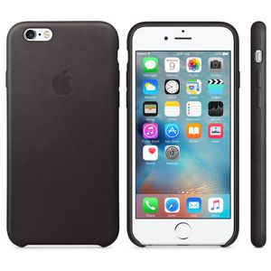 APPLE iPhone 6s Leather Case Black (MKXW2ZM/A)