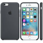 APPLE iPhone6s Silikon Case (anthrazit) (MKY02ZM/A)