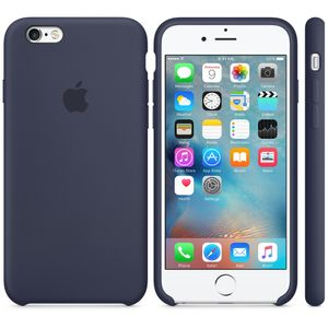 APPLE iPhone6s Silikon Case (mitternachtsblau) (MKY22ZM/A)