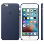 APPLE iPhone 6s Plus Leather Case MidnightBlue (MKXD2ZM/A)