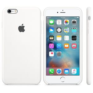 APPLE iPhone6s Plus Silikon Case (weiß) (MKXK2ZM/A)