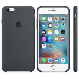 APPLE iPhone 6s Plus Sil. Case Charcoal Grey (MKXJ2ZM/A)