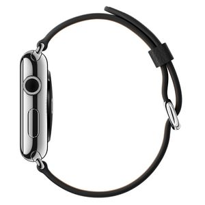 APPLE BAND 42MM BLACK CLASSIC BUCKLE . (MLHH2ZM/A)