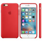 APPLE iPhone6s Plus Silikon Case (rot) (MKXM2ZM/A)