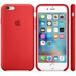 APPLE iPhone 6s Silicone Case (PRODUCT)RED (MKY32ZM/A)