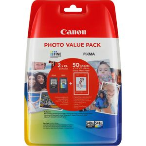 CANON PG-540XL/ CL540XL PHOTO VALUE BL WITH SECURITY SUPL (5222B014)