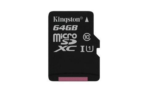 KINGSTON 64GB MICROSDXC CANVAS SELECT 80R CL10 UHS-I SP W/O ADAPTER EXT (SDCS/64GBSP)