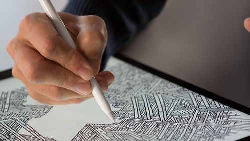 APPLE Pencil for iPad Pro Stylus til iPad Pro (MK0C2ZM/A)