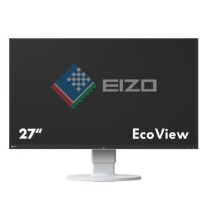 "EIZO 27"" LED FlexScan EV2750-WT 2560x1440 IPS, 5ms, 1000:1, Pivot, DVI/ HDMI/ DP (EV2750-WT)"
