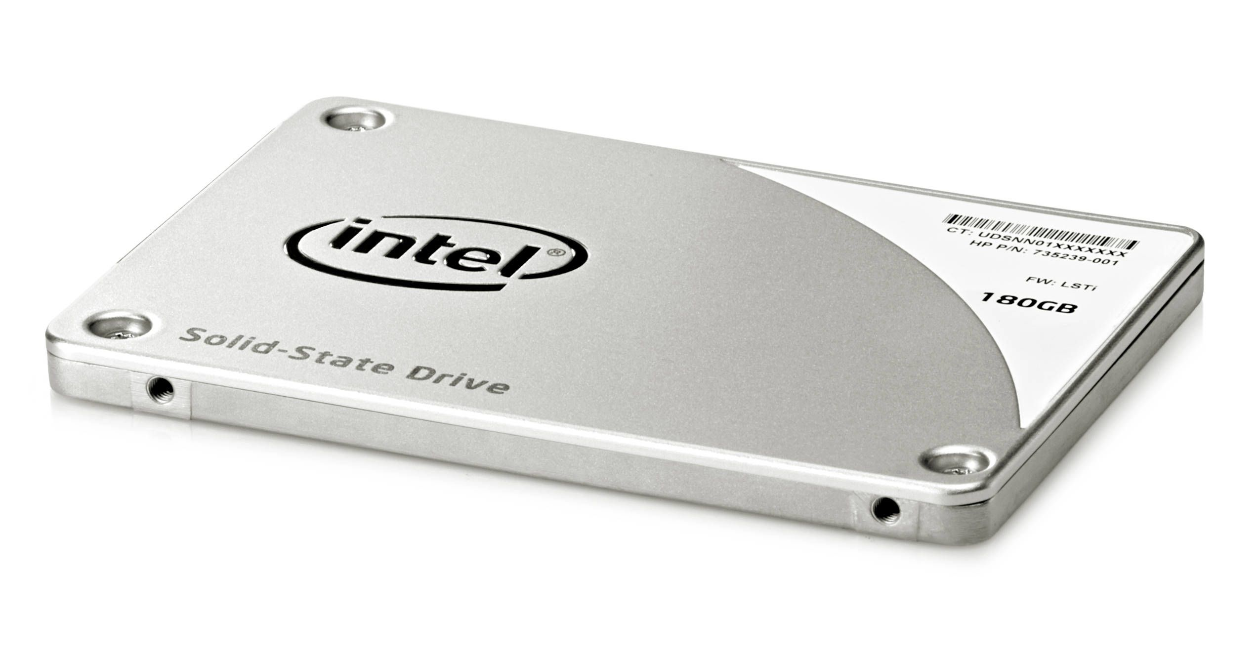 HP Intel Pro 2500 - Solid State Drive - 180 GB - intern - SATA 3Gb/s - for EliteDesk 705 G3, 800 G2; EliteOne 705 G2; ProOne 600 G2; Retail System MP9 G2 (P3X90AA)