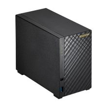 ASUSTOR AS-3102T v2 2-Bay_ Celeron Dual-Core 1_6Hz CPU_ 2GB RAM_ HDMI_ 4K support_ 4 camera licens (AS3102T v2)
