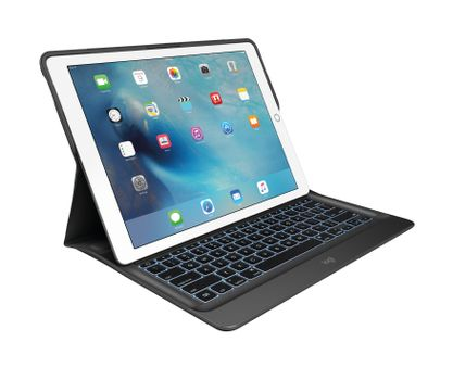 LOGITECH CREATE Keyboard Case For iPad Pro. Backlit Keyboard Case with Smart Connector