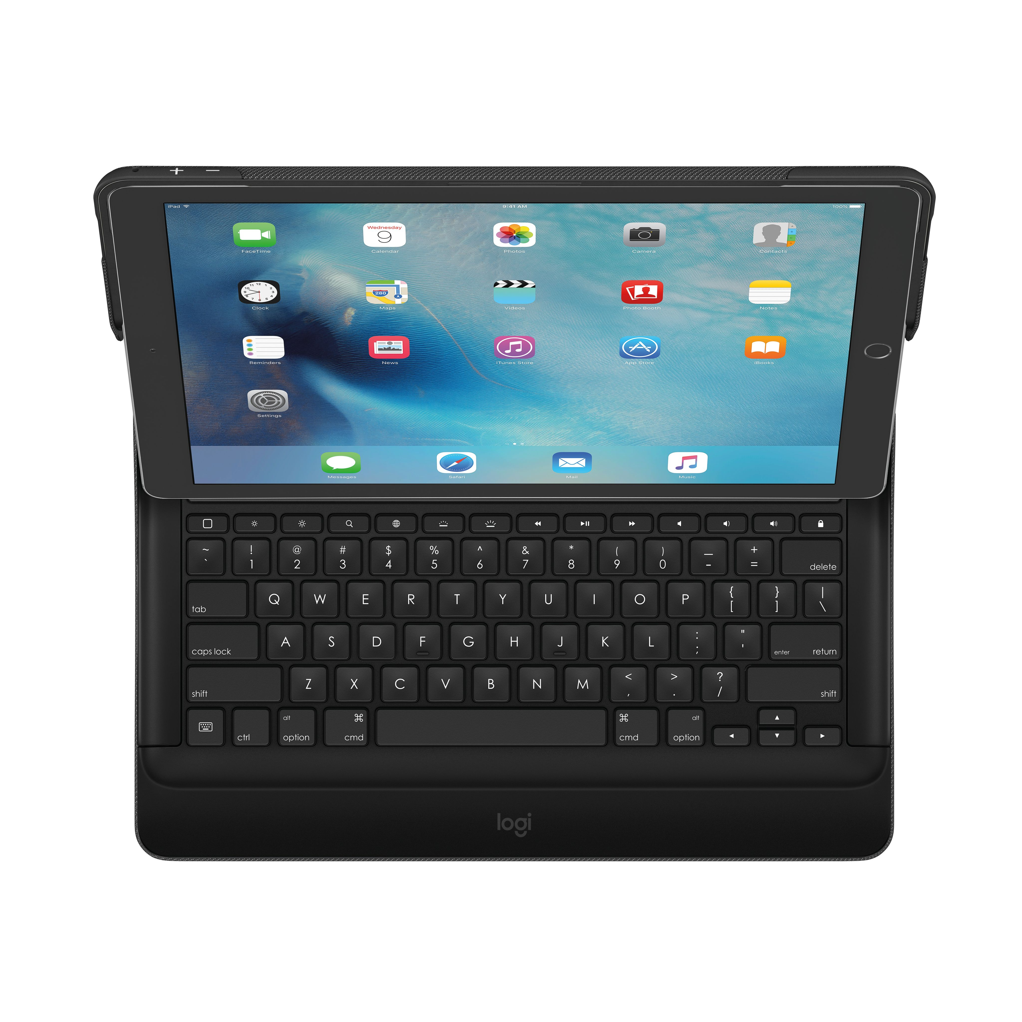LOGITECH CREATE Keyboard Case For iPad Pro. Backlit Keyboard Case with Smart Connector (920 007830)