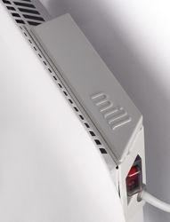 MILL Panelovn 600W hvitDag/ natt termostat,  frostsikring og overopphetingsvern,  IPX4 (IB600DN)