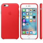 APPLE iPhone 6s Leather Case Red (MKXX2ZM/A)