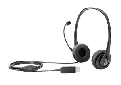 HP STEREO USB HEADSET F/ DEDICATED NOTEBOOK            IN ACCS (T1A67AA)
