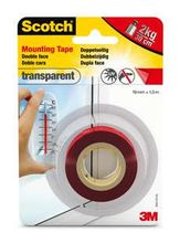 Scotch 40041915 Strong Mounting Tape transparent 19mmx1,5m (40041915)