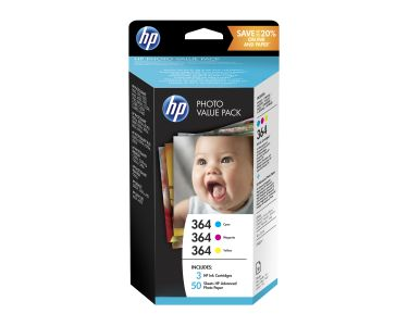 HP 364 Photo Value Pack 85 sheets 10X15 Cm (T9D88EE)